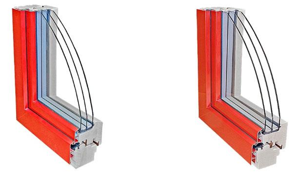 profily dřevohliníkových oken